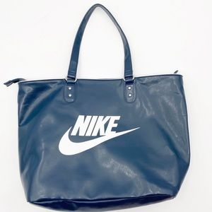 NIKE | Tote Bag Blue White Zipper
